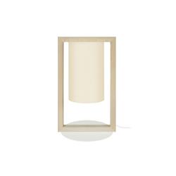 Designer-Tischleuchte aus Holz HATHA