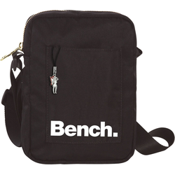 Bench. Umhängetasche OTI304S Bench stylische Mini Bag Twill Nylon (Umhängetasche), Damen, Jugend Umhängetasche Nylon, schwarz ca. 14cm breit
