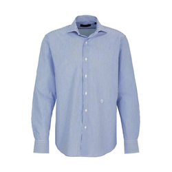 Trussardi Streifenhemd Trussardi Hemd Blue White