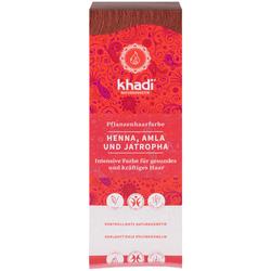 Khadi Pflanzenhaarfarbe Henna  Amla & Jatropha 100 g