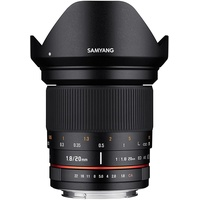 Samyang 20mm F1,8 ED AS UMC Sony Alpha