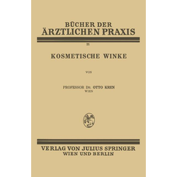 Kosmetische Winke als Buch von Otto Kren
