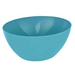 Rotho CARUBA Schüssel, 8 Liter, Schüssel aus Kunststoff, Maße: 340 x 340 x 150 , Farbe: aqua blau