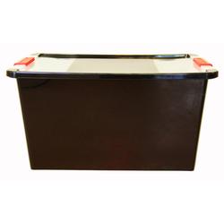 ONDIS24 Aufbewahrungsbox Aufbewahrungsbox mit Deckel Klipp Box L Lagerbox 34 Liter