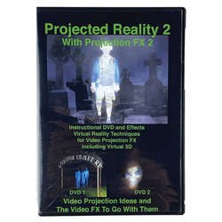 DVD Projected Reality Vol 2 Halloween LED Special Effect Lights