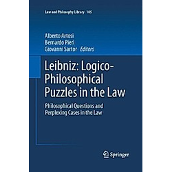 Leibniz: Logico-Philosophical Puzzles in the Law - Buch