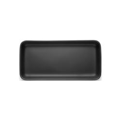 Eva Solo Servierplatte Eva Solo Nordic Kitchen Servierplatte schwarz 12 x 24 cm