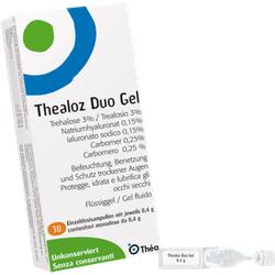 THEALOZ Duo Augengel 30X0.4 g