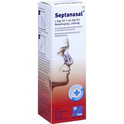 SEPTANASAL 1 mg/ml + 50 mg/ml Nasenspray 10 ml