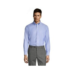 CLASSIC FIT. Buttondown-Kragen. Oxfordhemd - 42 34 - Blau
