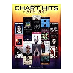 Chart Hits Of 2016-2017  Big-Note Piano Book - Buch
