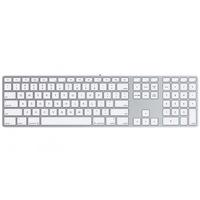 Apple Magic Keyboard mit Ziffernblock SV silber (MQ052S/A)