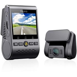 """VIOFO Autokamera Dashcam A129 Duo Dual Full HD 1080P 2.0"""" Diskretes Design WiFi Vorne und Hinten Kamera Nachtsicht mit GPS, 24h Überwachung, G-Sensor, Bewegungserkennung, Loop-Aufnahme"""