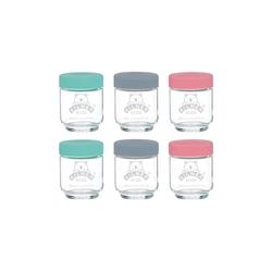 KILNER Gläser-Set (6-tlg), Glas 190 ml