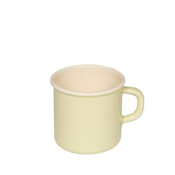 Riess Tasse Riess Emaille Topf mit Bördel 8cm,3/8L, Emaille