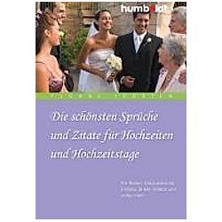Die schönsten Sprüche und Zitate für Hochzeiten und Hochzeitstage. Yvonne Joosten  - Buch