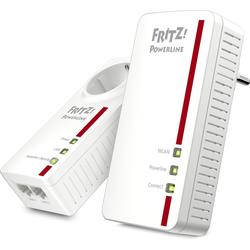 AVM Powerline FRITZ!1260E WLAN AC Set 1200 MBit weiß