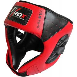 RDX F1 Kids Offenes Gesicht Kopfschutz für Kinder (Größe: Standardgröße, Farbe: Rot)