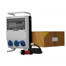 Stromverteiler TD-S/FI 3x230V franz System Kabel Stromzähler MID Doktorvolt® 0472