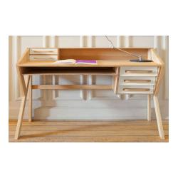 Mr. Marius Origami Desk Black - Schreibtisch
