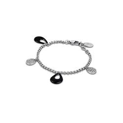 Lotus Style Edelstahlarmband JLS1706-2-2 Lotus Style Armband schwarz LS1706-2/2 (Armbänder), Armbänder für Damen Edelstahl (Stainless Steel)