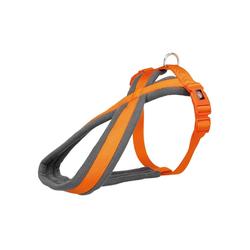 TRIXIE Hunde-Geschirr gepolstertes Premium TourenGeschirr, Nylon S - 35 cm - 50 cm