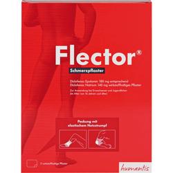 FLECTOR Schmerzpflaster+elatischer Netzstrumpf 5 St.