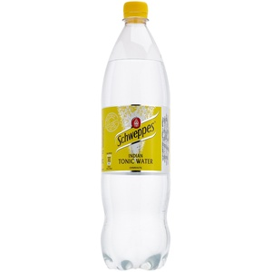 Schweppes Indian Tonic Water, EINWEG (6 x 1,25 l)