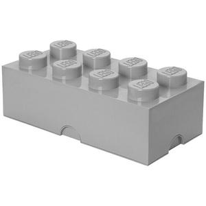 Lego Aufbewahrungsbox Brick  (L x B x H: 50 x 25 x 18 cm, Grau, Kunststoff)