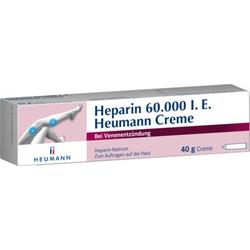 Heparin 60.000 I.E. Heumann Creme