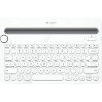 Logitech K480 Bluetooth Multi Device Keyboard US weiß (920-006367)