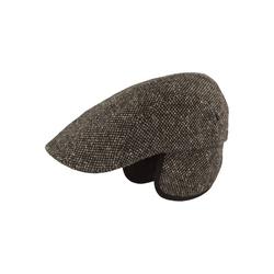 Balke Schiebermütze schmal, aus Strukturstoff mit Ohrenschutz 58