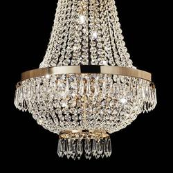 Ideal Lux Hängeleuchte Caesar Sp9 Oro