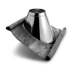 Zitec Dachdurchführung, Edelstahl, Ø 15 cm, Ø15 cm