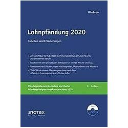 Lohnpfändung 2020  m. CD-ROM - Buch