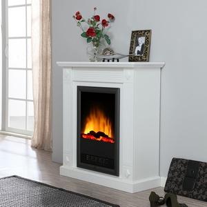 Stand-Elektrokamin in Weiß online kaufen
