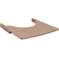tiSsi® Hochstuhltablett Ablagebrett aus Holz für Hochstuhl, Natur, Holz, für den tiSsi® Hochstuhl; Made in Europe