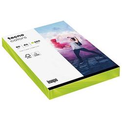 tecno Kopierpapier colors leuchtend grün DIN A4 80 g/qm 100 Blatt