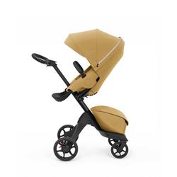 Stokke Sport-Kinderwagen Xplory® X - Multifunktions-Kinderwagen mit schützenden, ergonomischen Sitz gelb