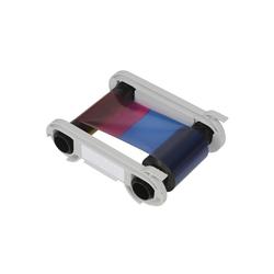 R3411 - 5 Panel Farbband - YMCKO - 100 Karten/Rolle (für Tattoo-Drucker)