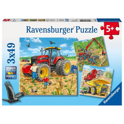 Ravensburger Große Maschinen,, Kinderpuzzle