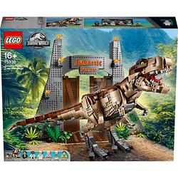 LEGO® Jurassic World™ 75936 Jurassic Park - T-Rex' Verwüstung