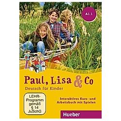 Paul, Lisa & Co: A1/1 - Interaktives Kursbuch für Whiteboard und Beamer, DVD-ROM