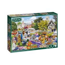 Falcon Puzzle Puzzles bis 500 Teile JUMBO-11301, 500 Puzzleteile bunt