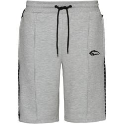 SMILODOX Fold Shorts Herren in grau, Größe S grau S