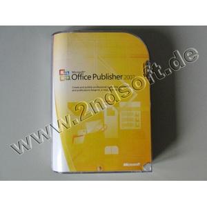 Publisher 2007, englisch - neu, SKU: 164-04130 (kompatibel mit Office 2007)