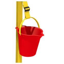 Wickey Spielturm-Spielzeugset Xtra-Lift Zubehör für Spielturm, Spielhaus, Klettergerüst oder Stelzenhaus rot