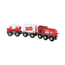 BRIO® Spielzeug-Eisenbahn Güterzug mit Frachtladung