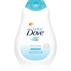 Dove Baby Rich Moisture Shampoo Für die Kopfhaut der Kinder 400 ml