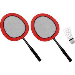 EDUPLAY Badmintonschläger XXL - Mega Badminton Set inkl. 22 cm Ball